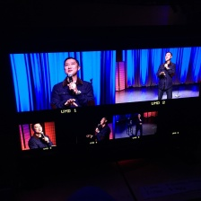 Paul PK Kim at the opening episode of Comedy InvAsian